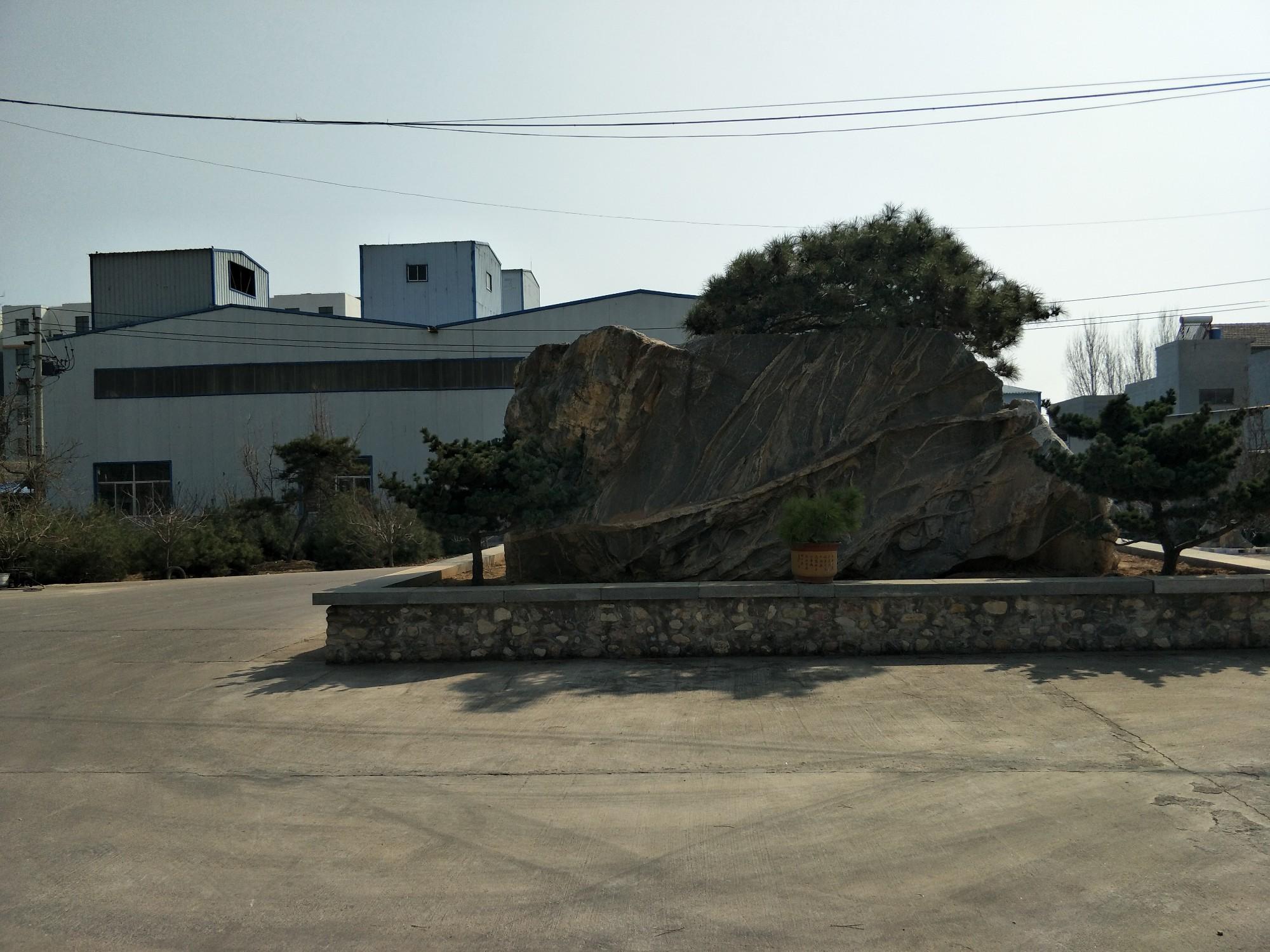 泽瑞排水板生产厂厂貌一角